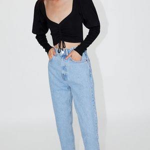 Zara Mom Fit Jeans